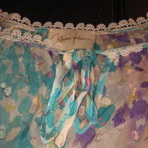 Yumi Kim Tops - Silk printed Yumi Kim blouse